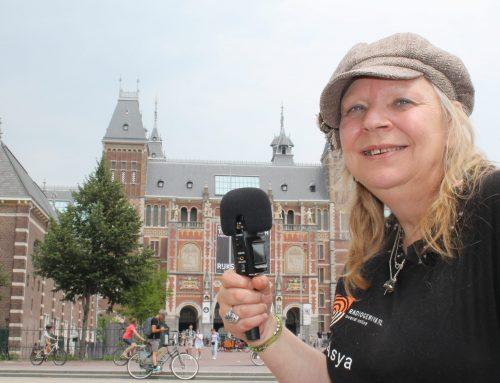 Radio Gemiva krijgt rondleiding voor blinden en slechtzienden in Rijksmuseum